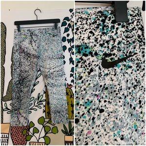 Nike Paint Splatter Capris